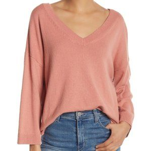Madewell Double-V Pullover Size Large
